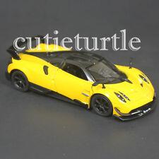 Kinsmart 2016 Pagani Huayra BC 1:38 Diecast Toy Car KT5400D Yellow