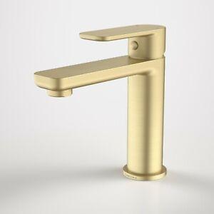 Caroma Luna Basin Mixer Brush Brass  68181BB6A