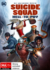 Suicide Squad: Hell to Pay DVD   DC Universe Movie   Region 4
