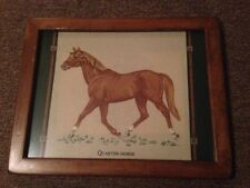 Horse painting quarter horse painting. wall decor