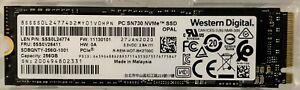 Western Digital 256GB M.2 2280 PCIe NVMe SSD Laptop Drive (P/N: 5SS0V26411)