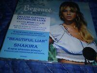 BEYONCE B'DAY DELUXE EDITION NWT 11 NEW SONGS/SHAKIRA 6 BONUS TRACKS/COLUMBIA