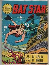BAT STAR albi dell'avventuroso N.69 LA SPADA DI DAMOCLE brick bradford 1964