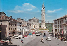 CARTOLINA VENETO VICENZA- GALLIO, PIAZZA ITALIA