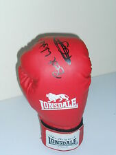 """Tommy """"BOOM"""" Coyle mano firmato Guanto Boxe Lonsdale London."""