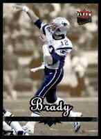 2006 FLEER ULTRA GOLD MEDALLION TOM BRADY NEW ENGLAND PATRIOTS #114 PARALLEL