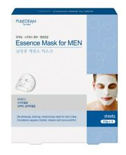 4 x Purederm Essence Mask for Men Relax Skin Health Bargain Bundle Price