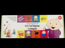AUSTRALIAN BABY SIGN LANGUAGE KIT BY THE LEARNING LADDER. BRAND NEW.