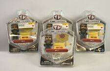 4 Pack Th Tube Heroes Sky Figures Toys With Butter Knife Trademark Blade New