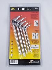 Bondhus #00058 Pivot Head Wrenches - Torx 5 Pc. Set, w/ Pouch, Made In USA