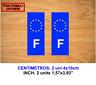 MATRICULA FRANCE UE UNION EUROPEA VINILO PEGATINA VINYL STICKER DECAL AUFKLEBER
