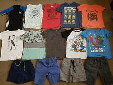 Boys Kids Size 6 Bulk Summer Clothes Bundle 14 items