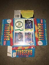 1990 Fleer EMPTY Box MLB Baseball Ken Griffey Jr. Card Cards Trading