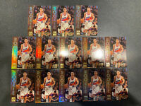 1996-97 Stadium Club Rookies 2 #R12 Steve Nash Rookie Suns Mavericks (13 Cards)