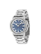 POLICE TRAMP MEN'S WATCH BLUE DIAL STAINLESS STEEL STRAP PL14797JS/08M