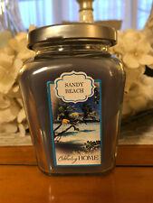 "Home Interiors (Celebrating Home) ""Sandy Beach"" Scented Petite Jar Candle~Nos~"