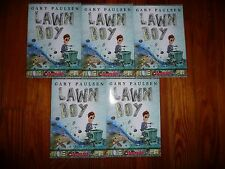 Lot of 5 copies LAWN BOY Andrew Clements GUIDED READING Lit Circle books