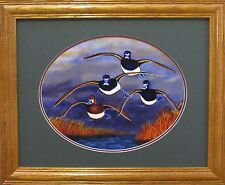 Ducks Unlimited Ringneck Duck Duck Decoy Hunting Sporting Art Wildlife Art Print