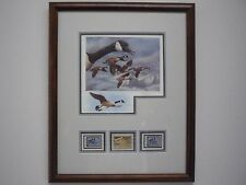 1986 Montana Duck Stamp Print Exec Edition REMARQUE  152/300  Neal Anderson