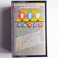 """Now Dance - The 12"""" Mixes (Double Cassette, 1985 Virgin/EMI) 20 Smash Hits"""