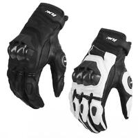 ILM Leather Motorcycle Gloves ATV Racing Glove Dirt Bike Motocross Bicycle Glove