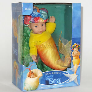 ANNE GEDDES DOLLS SELECTION FOR PLAY OR REBORN NEW IN BOX Gift MERMAID