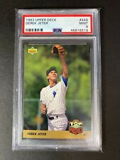 1993 Derek Jeter Upper Deck Rookie RC PSA 9