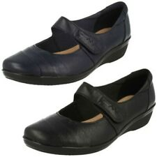 Ladies Clarks Cushion Soft Smart Shoes 'Everlay Kennon'