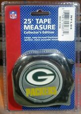 """Great Neck 1"""" x 25' NFL Tape Measure Green Bay Packers NFL94"""