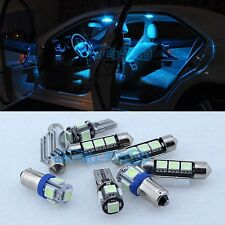 Ice Blue 13 LED Interior Error Free Light Bulbs KIT For VW PASSAT B5.5 2001-05 A