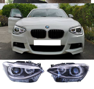 BMW F20 F21 11-15 angel eye xenon look headlights headlamps Depo left right pair