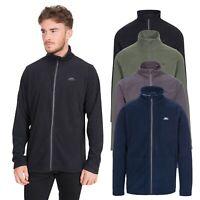 Trespass Tadwick Mens Fleece Jacket Full Zip Cardigan