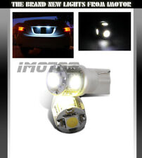 2 x 5-SMD LED White 168/194/2825/T10 Rear License Plate Light/Side Marker Bulbs