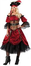 New Swashbucklin Scarlet Costume Incharacter Sexy Pirate Medium