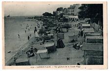 CPA 56 - LARMOR-PLAGE (Morbihan) - 1252. Vue générale de la Grande plage