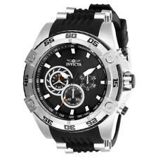 Invicta Speedway 52mm Stainless Steel Case 26mm Silicone Strap