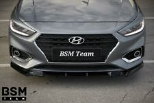 Painted New Front Splitter For Hyundai Accent 2017-2020