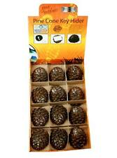 Boyz Toys RY564 Durable Pine Cone Effect Key Hider Perfect for Geocaching - New
