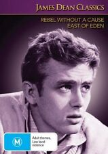 James Dean Classics-Rebel Without A Cause/East Of Eden(DVD, 2008, 2-Disc Set)