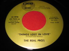 RARE 45 - THE REAL PROS - THINGS LOST IN LOVE - BOBBI BOYLE