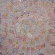 Ervin Neuhaus gouache pochoir signée 1980 art abstrait Belgrade Tel Aviv