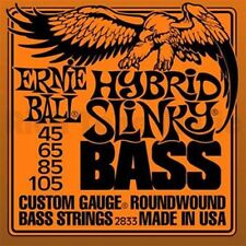 ERNIE BALL HYBRID SLINKY NICKEL ROUNDWOUND BASS GUITAR STRINGS