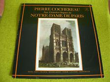 LP PIERRE COCHEREAU-ORGUES-NOTRE DAME DE PARIS-BACH-LISZT...CONCERT HALL SMS 21