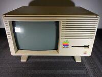 Used Apple Lisa Computer System 512k RAM VINTAGE RARE MACINTOSH MAC FOR PARTS D1