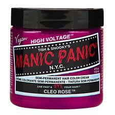 Cleo Rose Magenta Manic Panic Vegan 4 Oz Hair Dye Color
