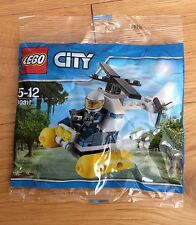LEGO City - 30311 - Swamp Police Helicopter - BNIP SEALED Polybag Set -Policeman