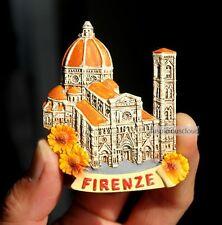 TOURIST SOUVENIR 3D Travel Fridge Magnet - Firenze / Florence , Italy