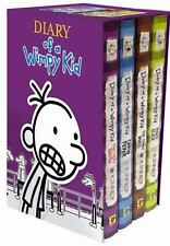 Diary of a Wimpy Kid Box of Books 5-8 by Jeff Kinney (2014, Hardcover)