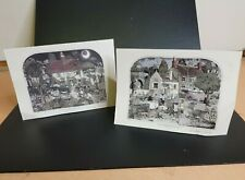 More details for 2 x vintage signed graham clarke brewup & tilly's greetings cards