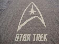 Star Trek Symbol Comic Books TV Show Sci-fi Soft Blue T Shirt L